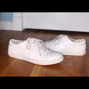 White Leather Kenneth Cole Sneakers